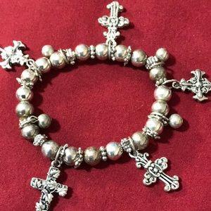 Vintage Silver tone  bracelet